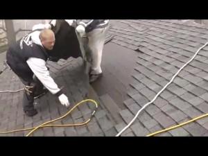 Bad roof job