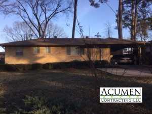Acumen Contracting LLC roof picture in Little Rock