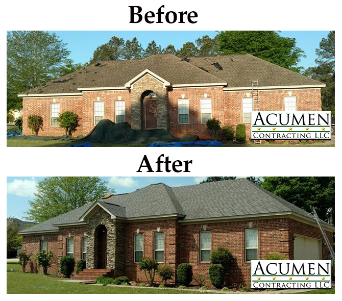 Roofing Pictures Before and After