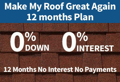12 month roofing financing