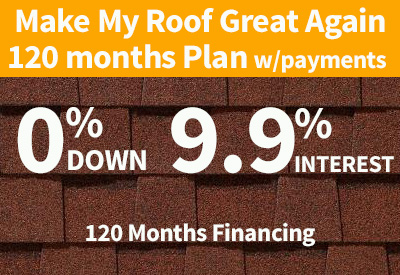 120 month roofing financing