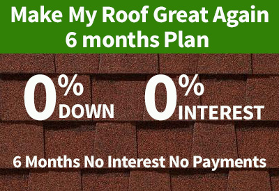 6 month roofing financing