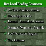 Best Local roofing contractor