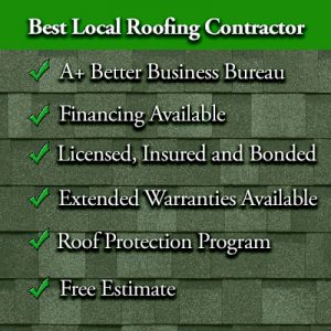 Best Local roofing contractor