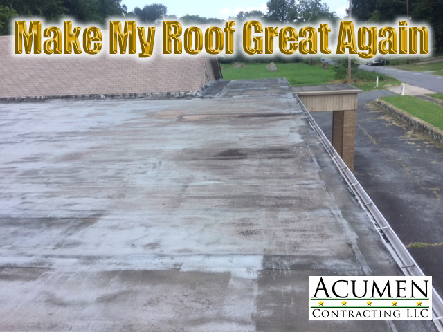 Silicone Roof Coatings Before And After Pictures Acumen