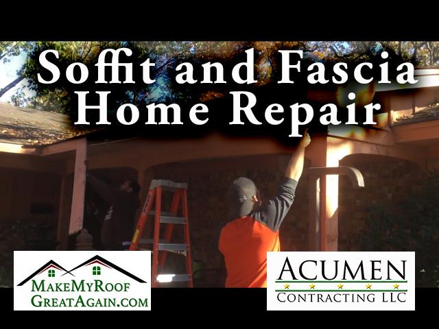 Soffit and Fascia Home Repair