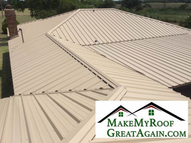 Metal roof picture