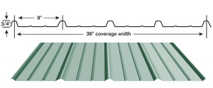 Residential Metal Roof Panel