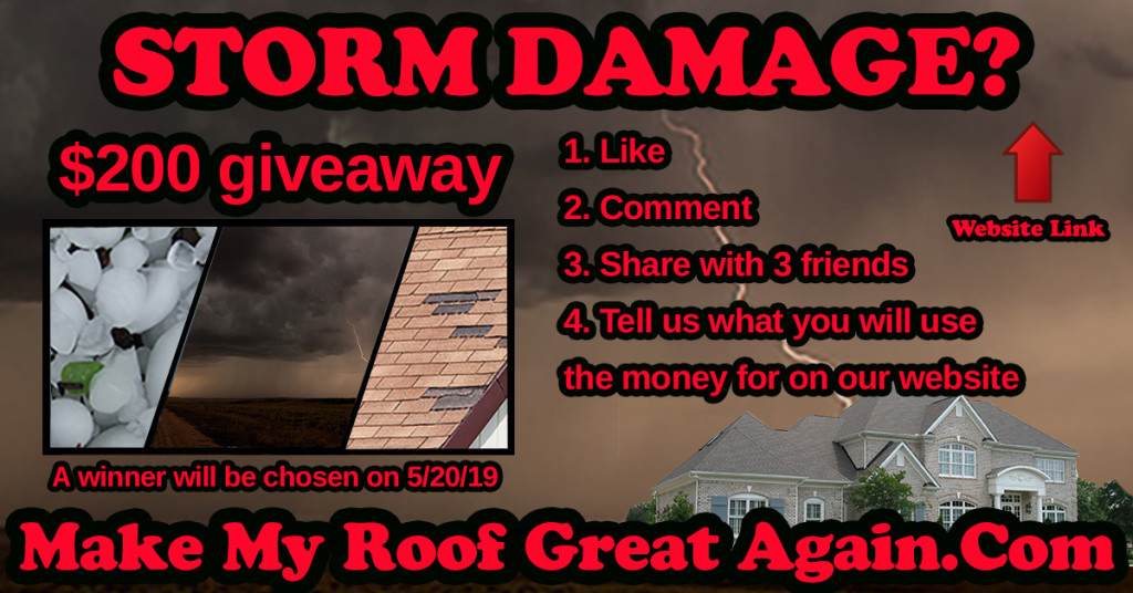 $200 Cash Card Giveaway - Commercial and Residential Roofing